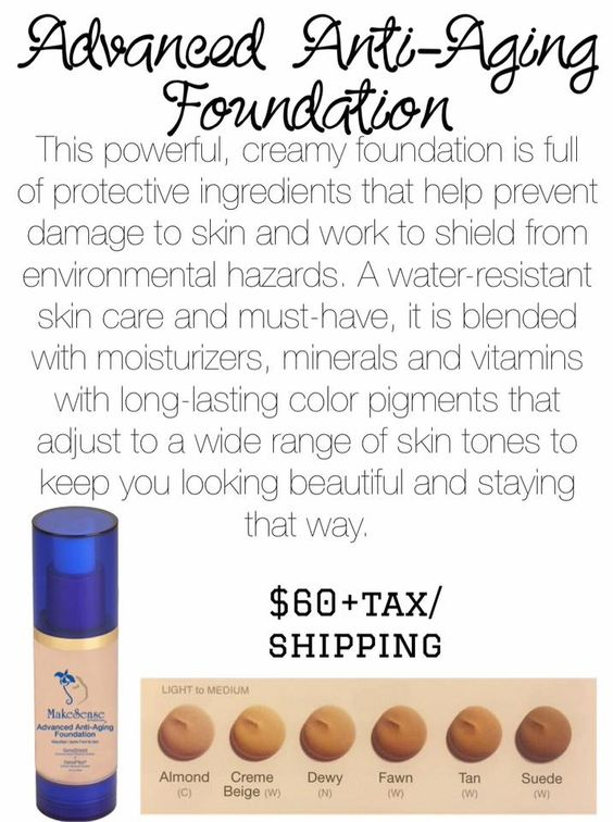 anti aging foundation